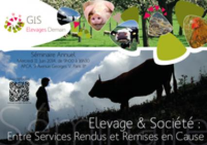 Plaquette Séminaire 2014 du GIS Elevages Demain